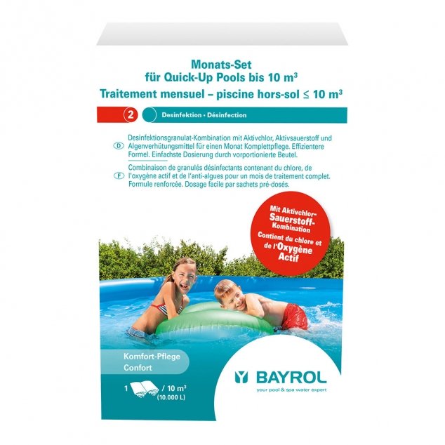 Bayrol Monatsset Quick-Up Pool bis 10m³